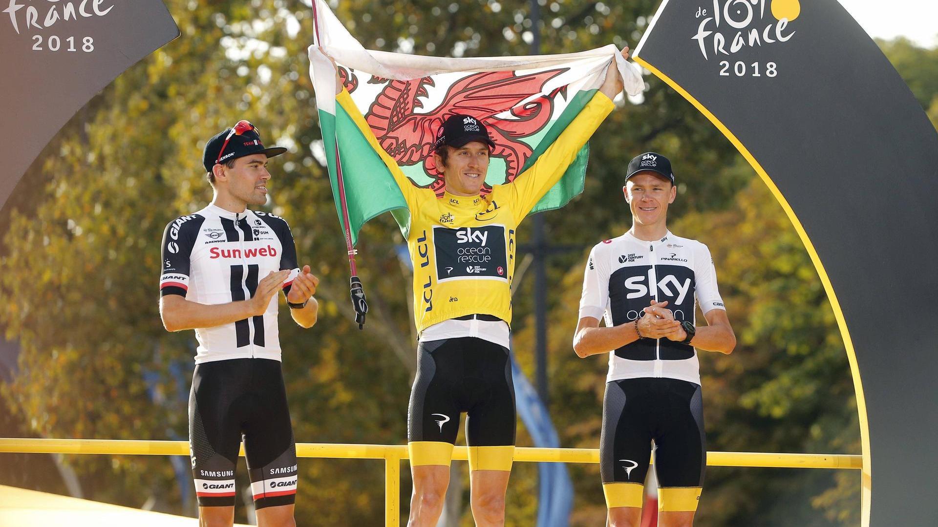 Favorieten gele trui Tour de France 2018